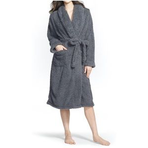 Chenille Robe- Charcoal